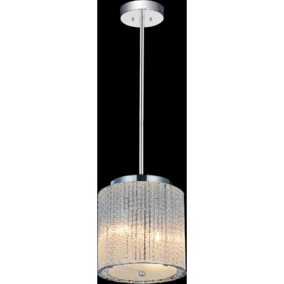 2-Light LED Drum Pendant