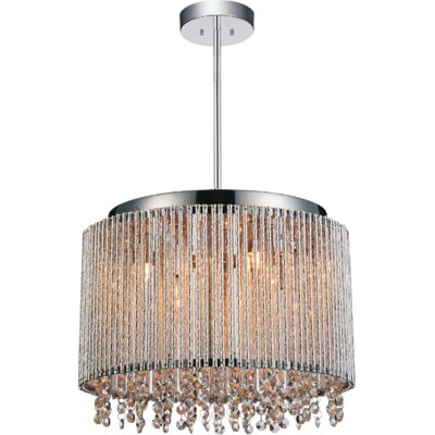 Claire 6-Light Crystal Pendant