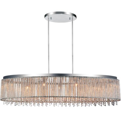 Claire 7-Light Crystal Pendant