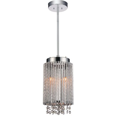 Claire 2-Light Crystal Pendant