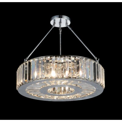 Claire 6-Light Semi Flush Mount