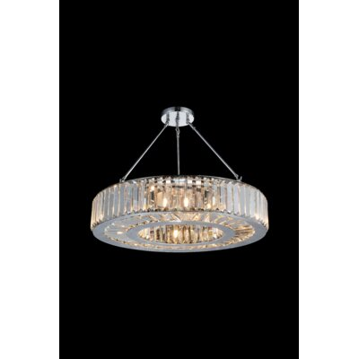 Leanne 10-Light Semi Flush Mount