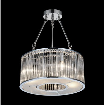 Wingard 4-Light Semi Flush Mount