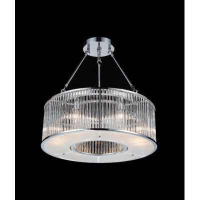Wingard 6-Light Semi Flush Mount