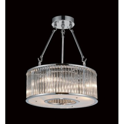 Wingard 8-Light Semi Flush Mount