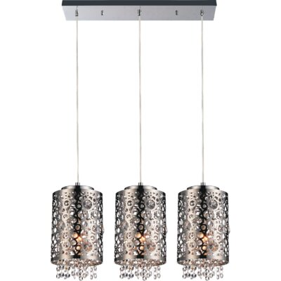 Bubbles 3-Light Kitchen Island Pendant