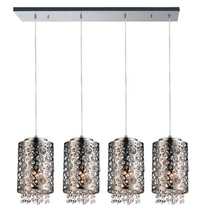 Bubbles 4-Light Kitchen Island Pendant