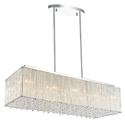 Spring Morning 10-Light Kitchen Island Pendant