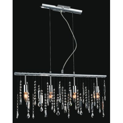 Janine 4-Light Crystal Chandelier