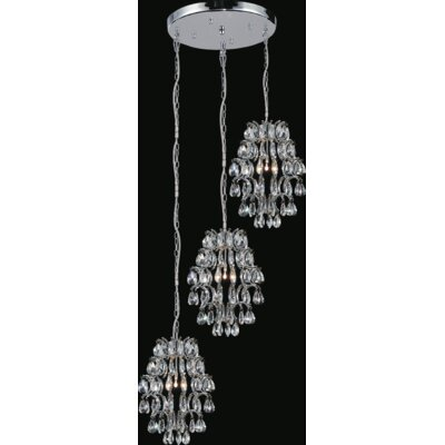 Charismatic 6-Light Crystal Chandelier