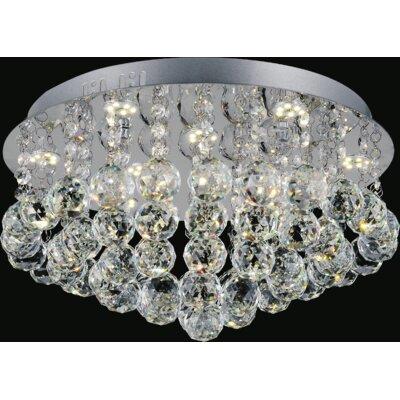 Sparkle 6-Light Flush Mount