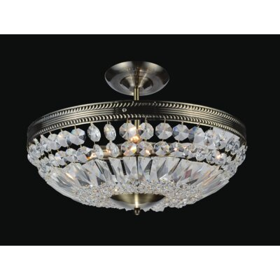 Cornelius 3-Light Semi Flush Mount