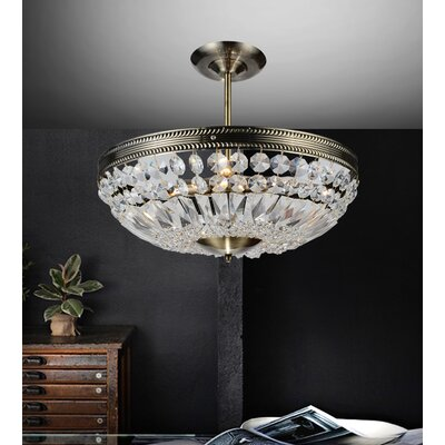 Cornelius 4-Light Crystal Chandelier