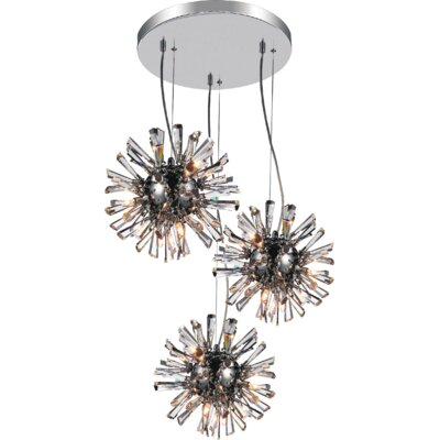 Flair 9-Light Cluster Pendant