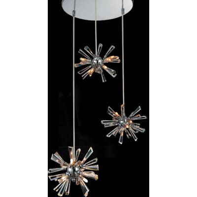 Flair 12-Light Cluster Pendant