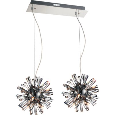 Flair 18-Light Cluster Pendant