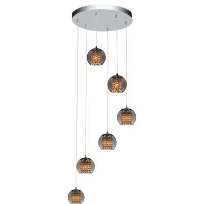 Flair 6-Light Cluster Pendant
