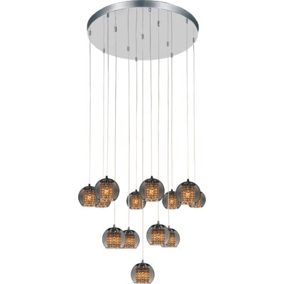 Flair 13-Light Cluster Pendant