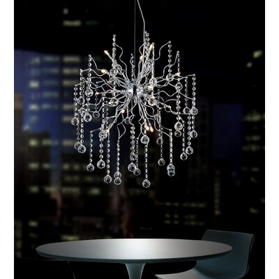 Cherry Blossom 15-Light Sputnik Chandelier
