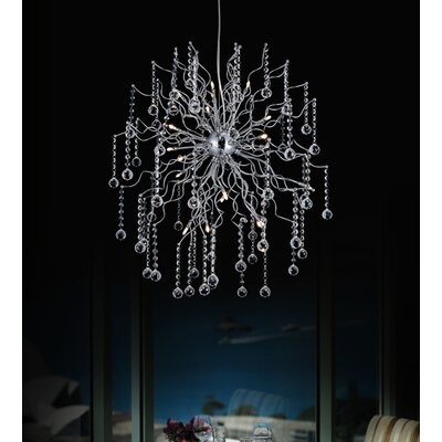 Cherry Blossom 20-Light Sputnik Chandelier