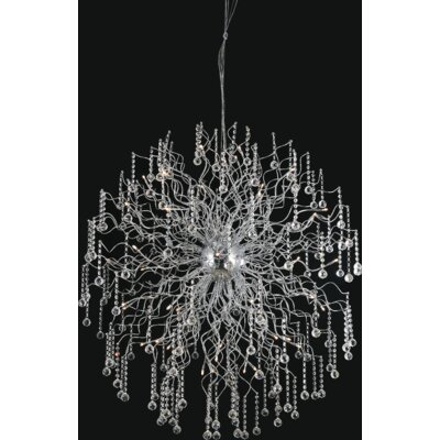 Cherry Blossom 48-Light Sputnik Chandelier