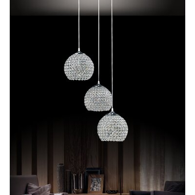 Globe 3-Light Cluster Pendant