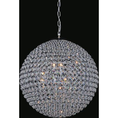 Globe 6-Light Crystal Chandelier