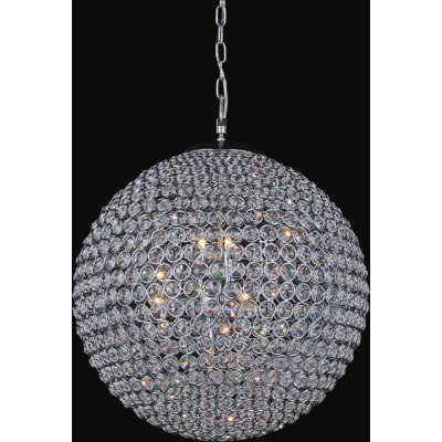 Globe 12-Light Crystal Chandelier