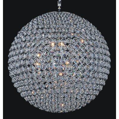 Globe 20-Light Crystal Chandelier