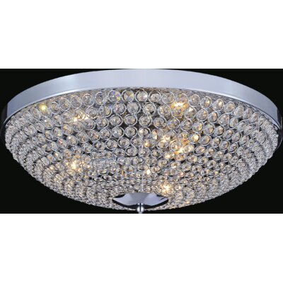 Globe 6-Light Flush Mount