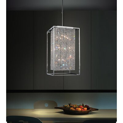 Cube 11-Light Foyer Pendant