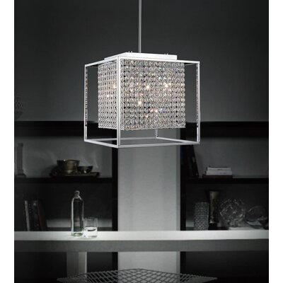 Cube 5-Light Foyer Pendant