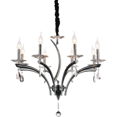 Regina 8-Light Candle-Style Chandelier