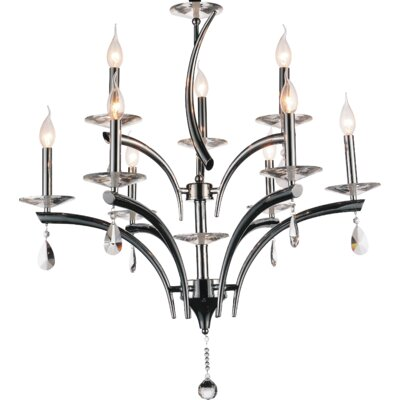 Regina 9-Light Candle-Style Chandelier