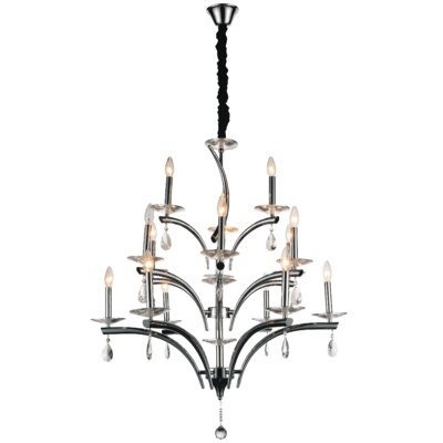 Regina 15-Light Candle-Style Chandelier