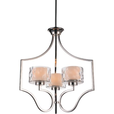 Lorri 3-Light Drum Chandelier