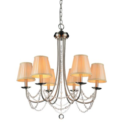 Paulie 6-Light Candle Chandelier