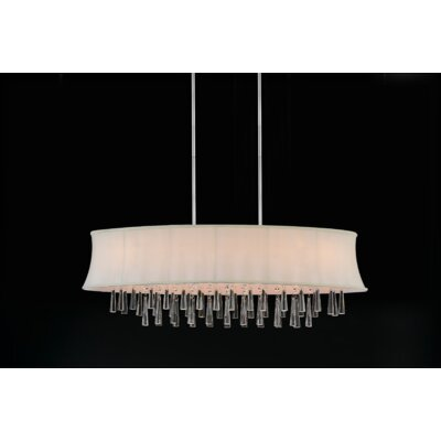 Audrey 8-Light Drum Chandelier