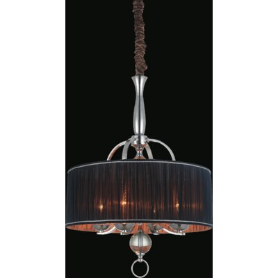 Shaye 4-Light Drum Chandelier