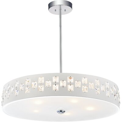 Stellar 5-Light Drum Chandelier
