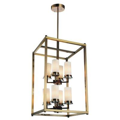 Margie 8-Light Foyer Chandelier Finish: Antique Bronze