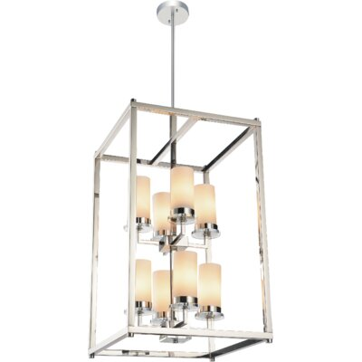 Margie 8-Light Foyer Chandelier Finish: Chrome