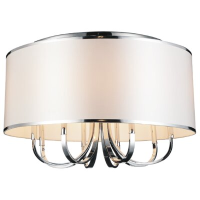 Orchid 8-Light Flush Mount