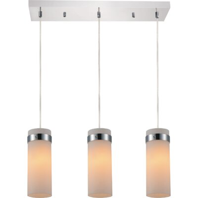 Olivia 3-Light Kitchen Island Pendant
