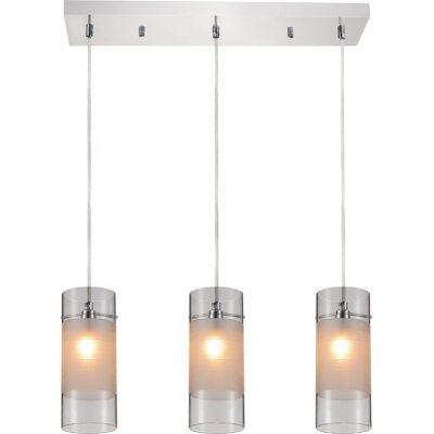 Unico 3-Light Kitchen Island Pendant