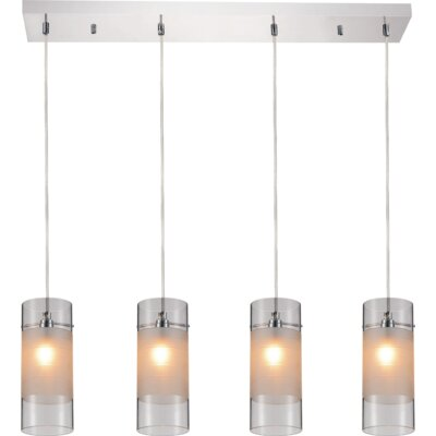 Unico 4-Light Kitchen Island Pendant