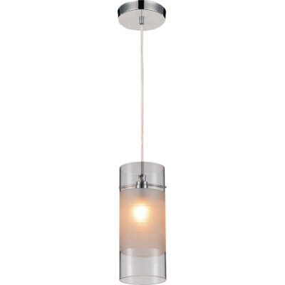 Unico 1-Light Mini Pendant Shade Color: Transparent