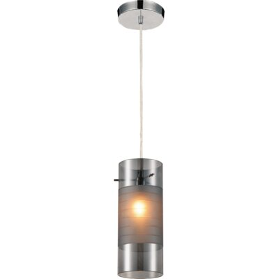 Unico 1-Light Mini Pendant Shade Color: Transparent Smoke
