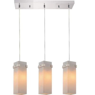 Hype 3-Light Kitchen Island Pendant