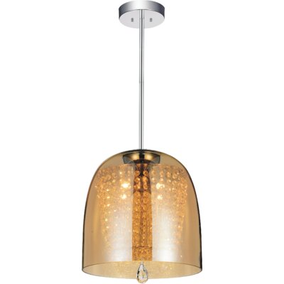 Movement 4-Light Mini Chandelier   Shade Color: Cognac